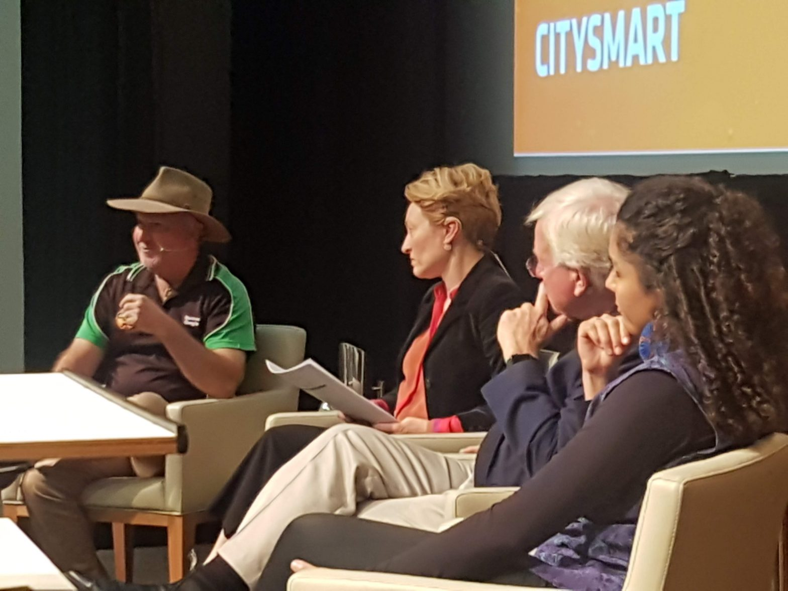 The panel at Climate Week Speaker Series